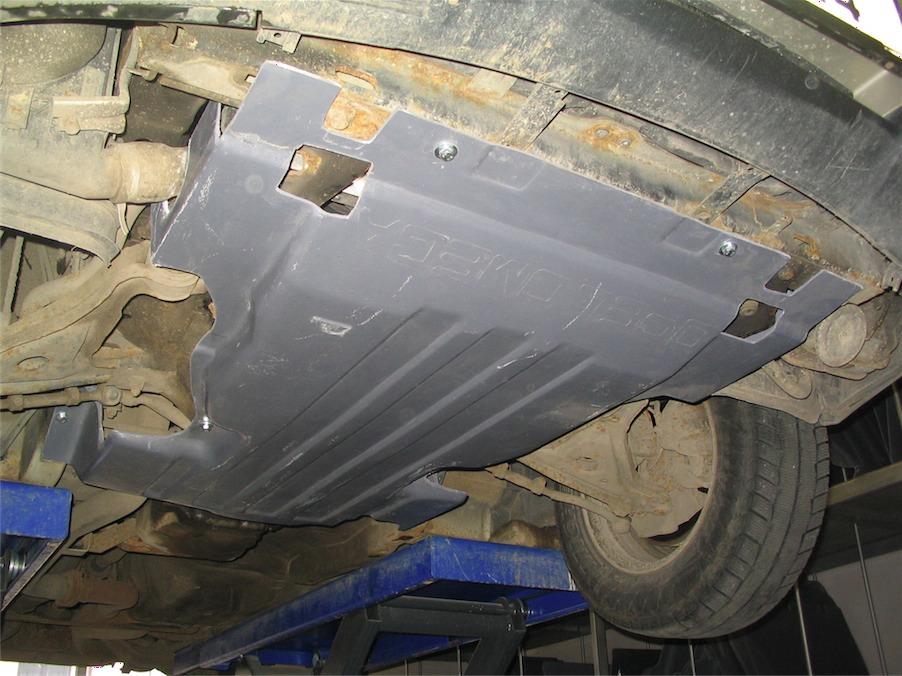 Как сделать защиту картера двигателя 79