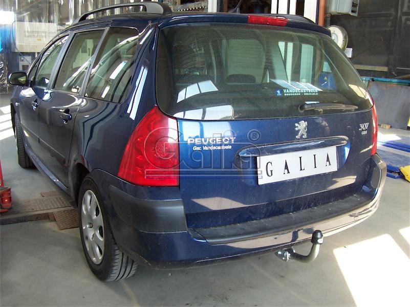 Peugeot 307 Sw 2002 Tow Bar Galia