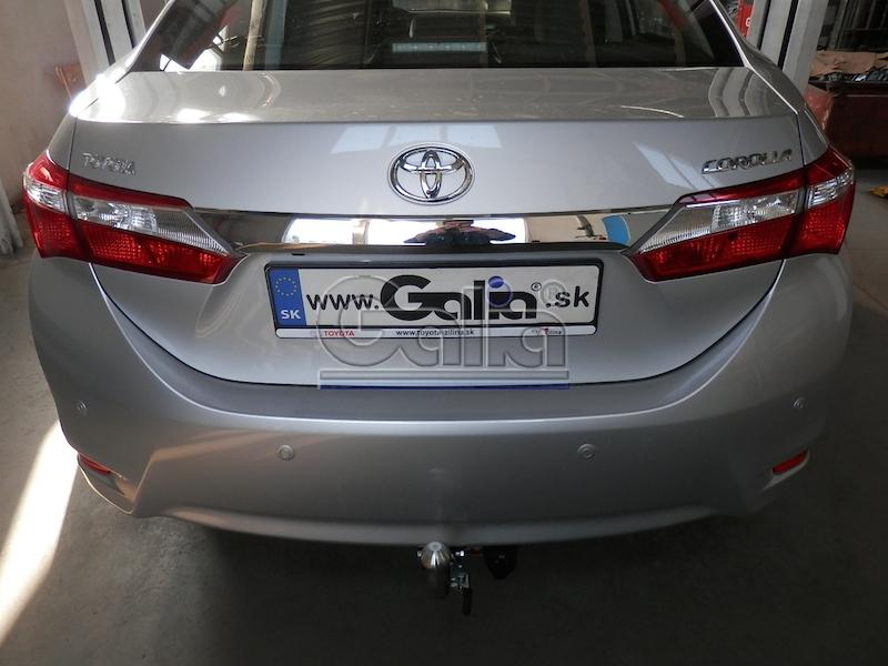 Toyota Corolla E18 2013 Saloon Tow Bar Galia